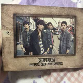 🚚 CNblue Re:3lue專輯(全新未開封)