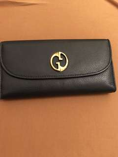 Gucci long wallet genuine calf leather