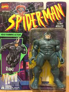 1994 Spider-man Animated Series RHINO