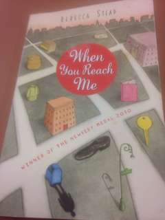 When You Reach Me by Rebecca Stead (Winner of the Medal)