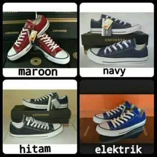 SEPATU CONVERSE ALL STAR LOW GRADE ORI