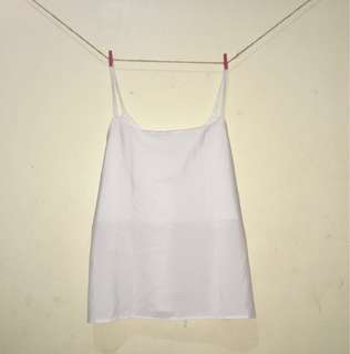Simple Cami Top - White