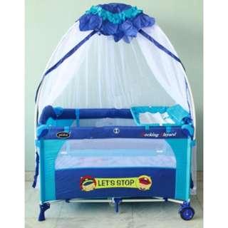 Box bayi Pliko (Tempat tidur portabel bayi)