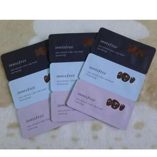 Innisfree jeju volcanic Color Clay mask (3in1)