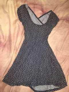 Brandy Melville floral skater dress