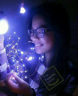 Fairy light LED battery operated 5 meters