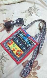 民族風 原住民 混搭 圖騰手作手機袋