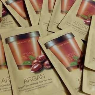 Nature Republic Argan Essential Deep Care Hair Pack 10ml Sachet