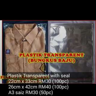 Plastik with seal...