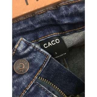 🚚 CACO 微刷破牛仔褲
