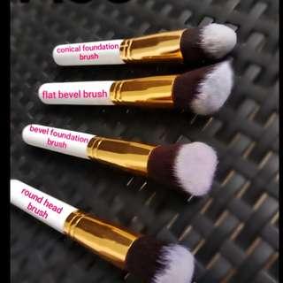4pcs base make up brush set