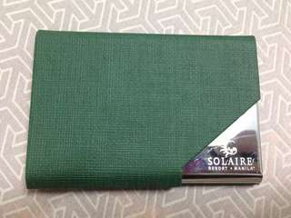 Solaire card case card holder money