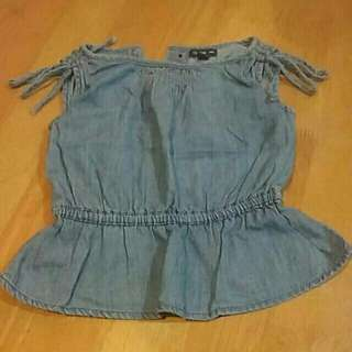 preloved baby gap blouse