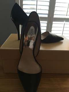 "Michael Kors Black 3.5"" heels"