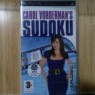 PSP - Carol Vorderman's Sudoku