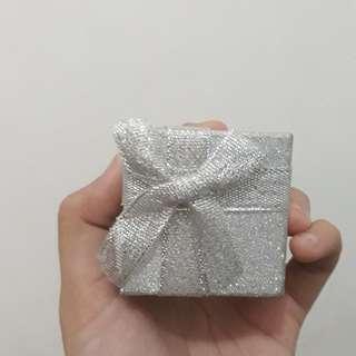 Kotak cincin silver