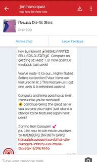 ❤❤❤THANKS CAROUSELL!!! 😙😙😙