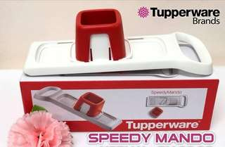 Speedy Mando Tupperware