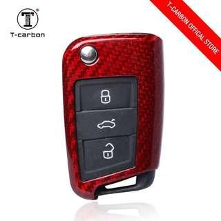 Genuine T-Carbon™ 100% Carbon Fiber Key case / Key Fob / Key protector (Honda / Audi / Mercede Benz / Mazda / BMW / Nissan / Qashqai / Volkswagen / Porsche / GTR / Subaru / Lexus / Land Rover)