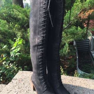 Lucky Brand Over The Knee Boots 6.5