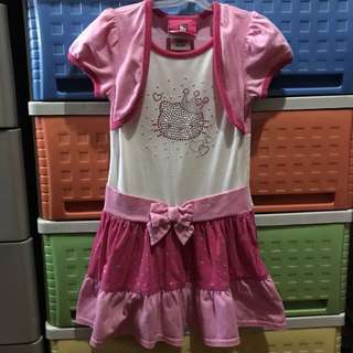Authentic Hello Kitty dress for 3-5 years old