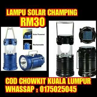Solar Camping Light