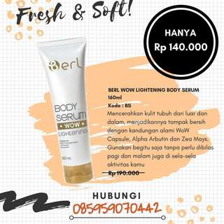 B ERL LIGHTENING BODY SERUM