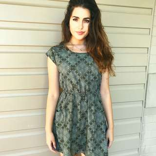 Forest Green Summer Dress