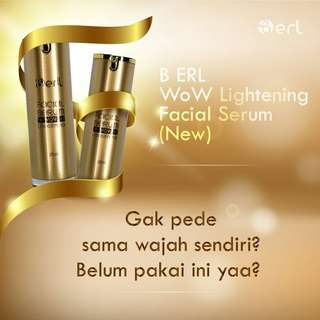 B ERL LIGHTENING FACIAL SERUM