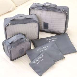 6 n 1 Travel Bags and Pouches