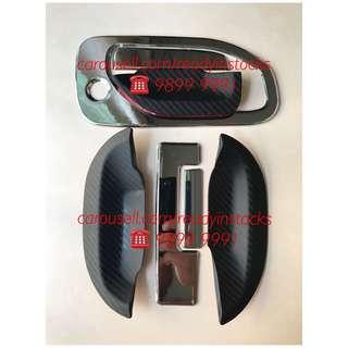 Nissan NV350 CARAVAN Van 8 Pieces Chrome Door Handle With 6 Pieces Handle Rubber Protector / Nissan Accessories