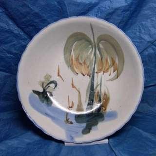 🚚 「早期椰子盤裝飾佳」 早期 古董 復古 懷舊 稀少 有緣 大同寶寶 黑松 沙士 鐵件 40年 50年