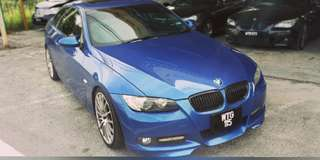 BMW E92 335I 3.0 TWIN POWER TURR