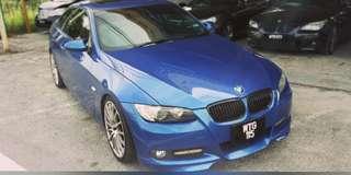 BMW E92 335I 3.0 TWIN POWER TURR