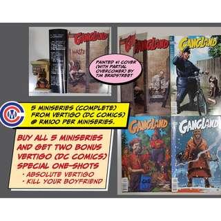 Vertigo DC Comics - 5 x MiniSeries (20 comics + 2 bonus comics)