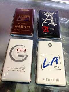 Kotak Rokok motif Merk rokok