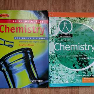 IB Diploma HL Chemistry Textbook and Study Guide