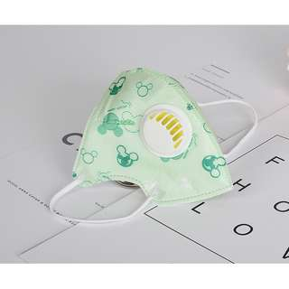 Children's folding breathing masks Disposable dust-proof and fog-proof PM2.5 masks