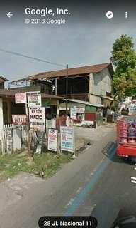 Dijual lahan tanah  Raya KM. 7 ,, Jl. Dramaga Sawah Raya, Laladon, Ciomas, Bogor, Jawa Barat 16610