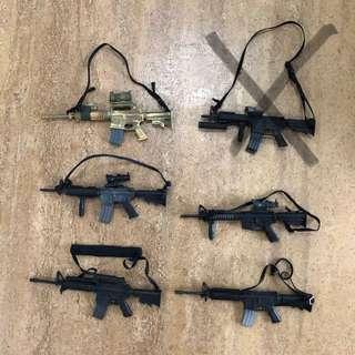 1/6 Guns - $10 each (part 1)