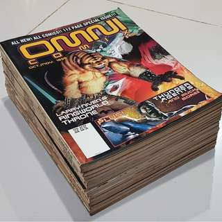 Heavy Metal/Den/Omni Comix- SUPER RARE - 21 Comics