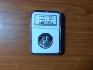 2008 S Bald Eagle Half Dollar NGC MS 69