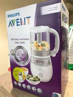 BNIB 4-in-1 Philip Avent  Healthy Baby Food Maker