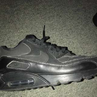 Full Black Nike Airmax 90's