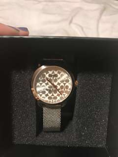 Coach watch brand new in box