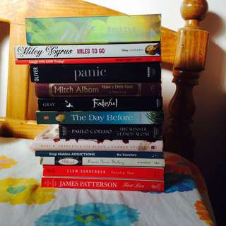 Selling these books for only Php 110 each