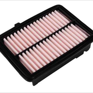 Honda Vezel HRV Grace Shuttle Air Filter and Honda Vezel Aircon Filter in Honda packaging