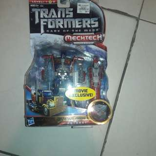 Transformers dark of the moon-deluxe class lunarfire optimus prime