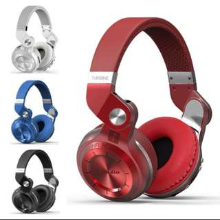 Foldable Bluetooth Wireless stereo Headset headphones