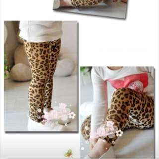 Thick leopard African  leggings